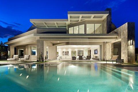 Modern luxury kuda architectural photography