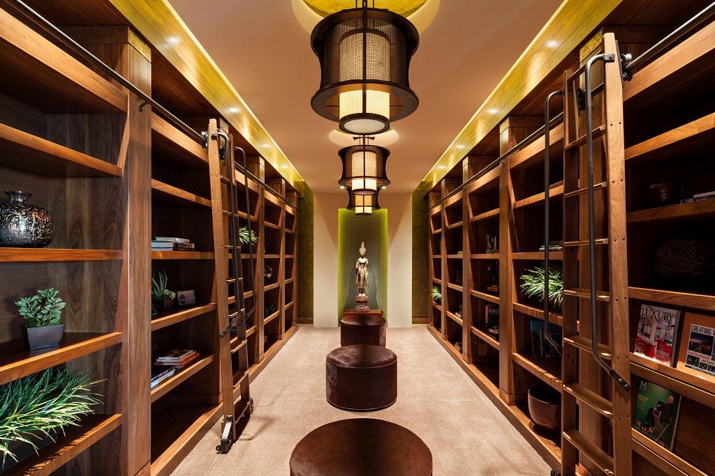 Contemporary Estate - library