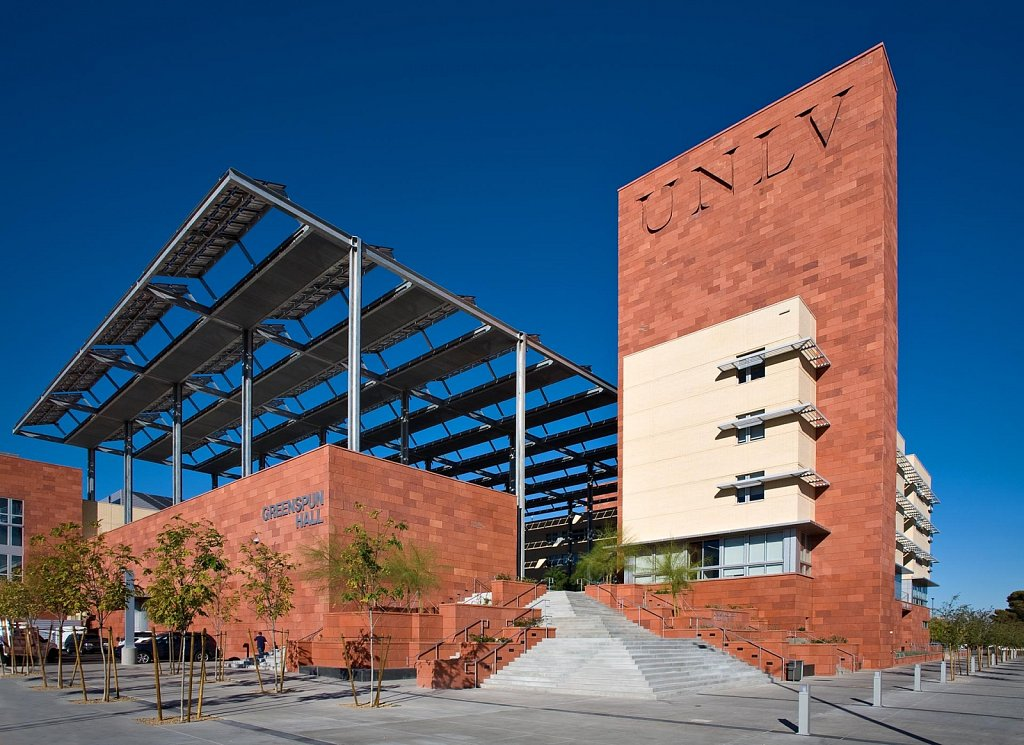 Greenspun Hall at UNLV - II