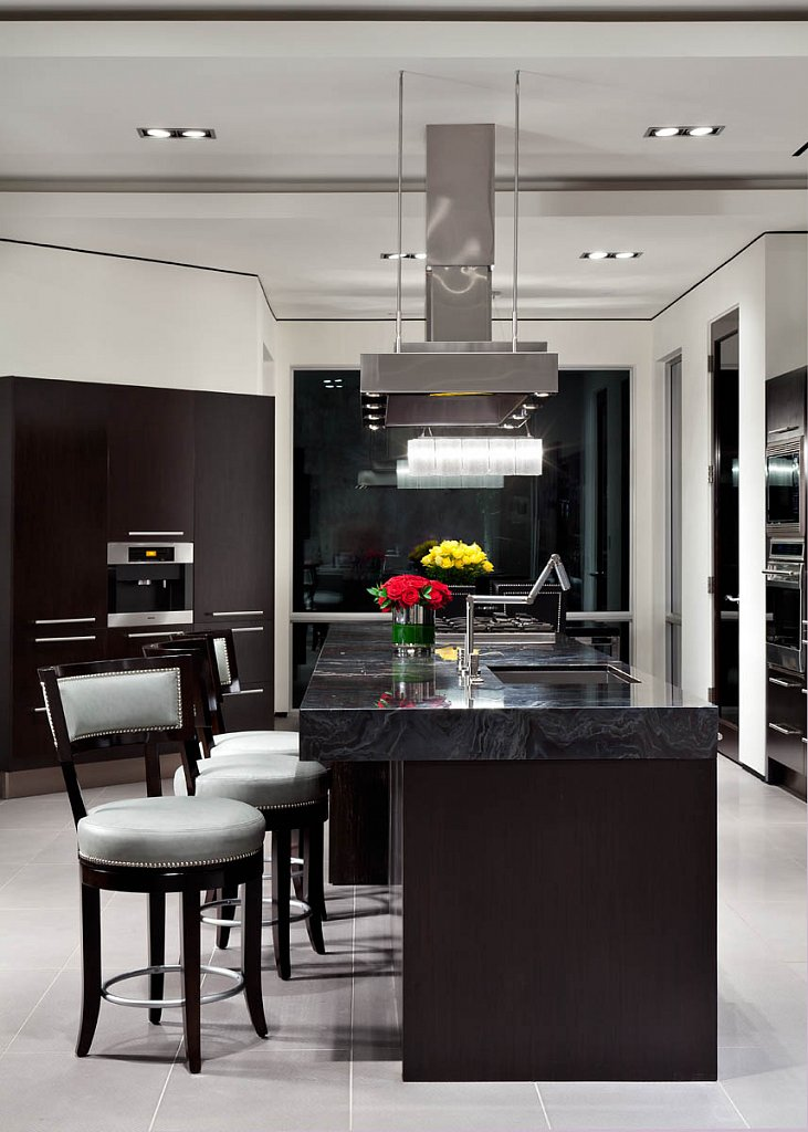 Modern Luxury - kitchen