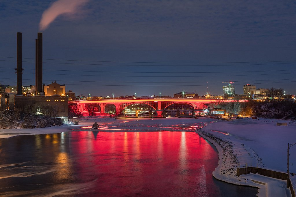 I-35W Saint Anthony Falls Bridge - I