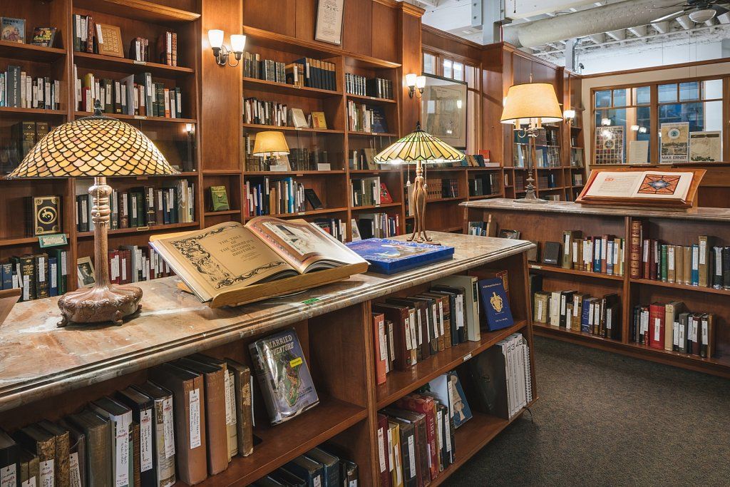 Powell's Books - Rare Book Room