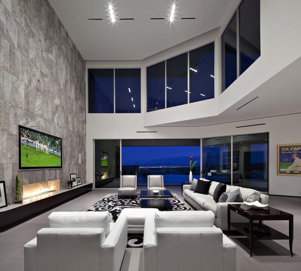 Modern Luxury - living room