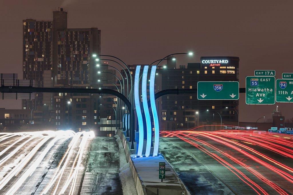 I-35W Saint Anthony Falls Bridge - V